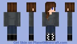 First try making a female skin Minecraft Skin