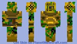 Deep Sea Ghost Armor (Skin contest) Minecraft Skin