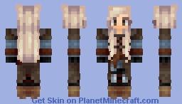 For Sif Minecraft Skin
