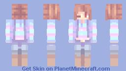 Underswap - Frisk (More Skins in Description) Minecraft