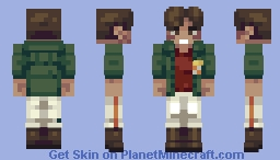 """Gearless"" Joe (Megalo Box) Minecraft Skin"