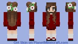 ♡ Request ~ Flowahh twin ♡ Minecraft Skin