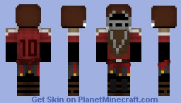 Caesar Legion: Prime Catcher (remove black) Minecraft Skin