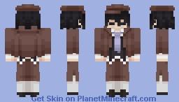 Ranpo Edogawa Minecraft Skin