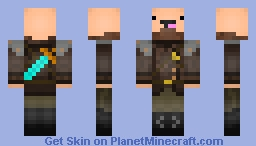 Ready-2-Fight Noob Minecraft Skin