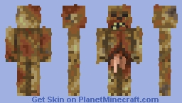 Gruesome fumbled stinking corpse Minecraft Skin