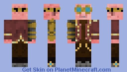 Steampunk Pig Minecraft Skin