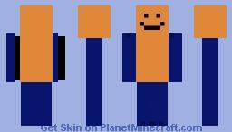 GorillaGarfield Minecraft Skin