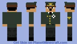 Adolf Hitler Minecraft Skin