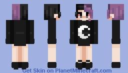 > . > | ᔕ I Ꮎ ᑌ ᙭ Minecraft Skin
