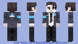 Conner - Detroit: Become Human Minecraft Skin