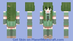 🍵- green tea -🍵 Minecraft Skin