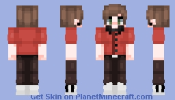 (c) lqvender | a rather posh looking young lad Minecraft Skin