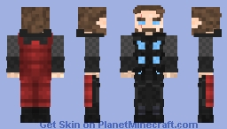 thor infinity war electric Minecraft Skin