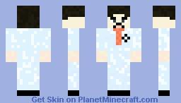 SCP scientist Minecraft Skin