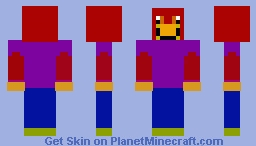 Masked Monster Minecraft Skin