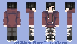 maroon  hoodie | skin request POPREEL Minecraft Skin
