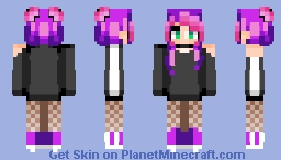 ~«ξvιε - The Quiet and the Bold - Poppyreeel~ Minecraft Skin