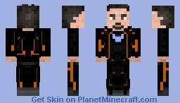 tony stark infinity war Minecraft Skin
