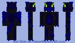 Toothless Minecraft Skin