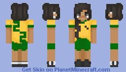 World cup 2018 Minecraft Skin