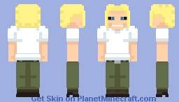 All Might (True Form) Minecraft Skin