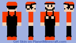 Mario (Super Mario Bros. 3 Design) Minecraft Skin