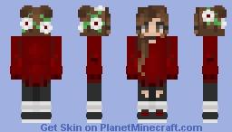 ♡ Request ~ i_love_softball twin ♡ Minecraft Skin