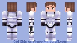 Star Wars | Stormtrooper Han Minecraft Skin