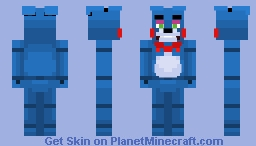 Toy Bonnie | FNaF 2 Minecraft Skin