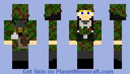 1st SS Panzer Division Leibstandarte SS A.H Soldier Minecraft Skin