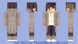 OC - Icarus, Icarus Minecraft Skin