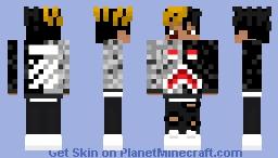 A good man died at 20 Minecraft Skin