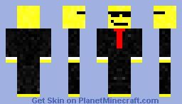Swag Emoji Minecraft Skin