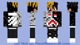 Reupload Minecraft Skin