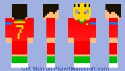 Annonce WM 2018 Minecraft Skin