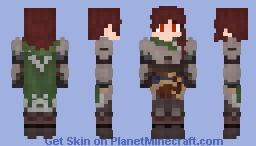Knight of the Lake Minecraft Skin
