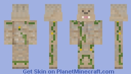 Iron Golem Bacca Minecraft Skin