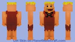 ﴾ξꭚꞕꝍ₮₮ἷ﴿ Barney Rubble Minecraft Skin