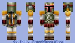 Boba Fett [3D/Asymmetry] Minecraft
