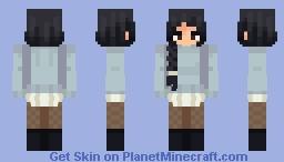 (oc) Min Minecraft Skin