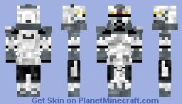 Commander Wolfee clone wars 2008 phase 2 Minecraft Skin