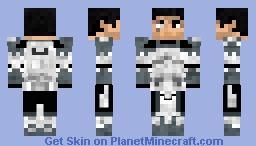 Commander Wolfee (no helmet I was bored) Minecraft Skin