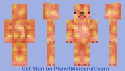 Lava Dog Minecraft Skin