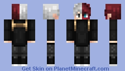 Shoto Todoroki Minecraft Skin