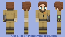"""Fallout 76 - """"Thumbs Up Lady"""" Minecraft Skin"""