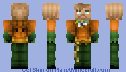 Aquaman Minecraft Skin