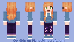 First Skin using PMCskin3D Minecraft Skin
