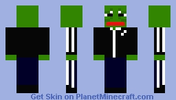 Gopnik Pepe Minecraft Skin