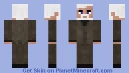 Half Life 2 Dr. Breen Minecraft Skin